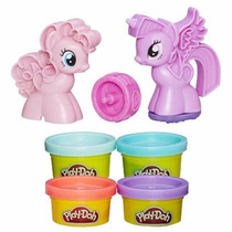 Massinha De Modelar Play Doh Mlp Kit Estampa Ponei - Carimbo