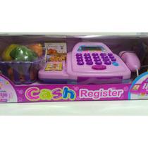 Caixa Registradora Infantil Com Som E Luz Pronta Entrega