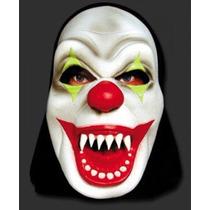 Máscara Palhaço Assassino Cosplay Látex Halloween