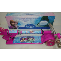 Patinete Infantil Frozen Princesas Homem Aranha Frete Grátis