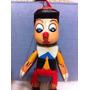 Marionete Pinóquio Madeira Pintado A Mao. 33x11cm