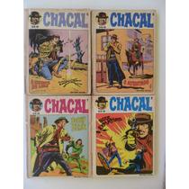 Chacal! Vários Números! Editora Vecchi - 1980-81!