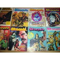Skorpio Nº 01 - Editora Vecchi- Quadrinhos Argentinos-dez 79