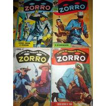 Zorro Em Cores Nº 04-a Volta Do Formato Original- Ebal 1984