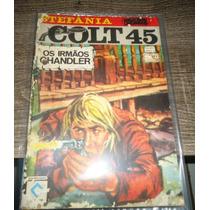 Colt 45 Nº 1, Raro, Faroeste, Editora Cedibra, Estefania