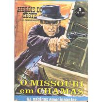 Herois Do Oeste Nº 1 - Anos 1970 - Roval Editora