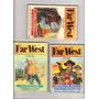Lote 3 Bolsilivros Faroeste, Serie Far West, Western, Raros