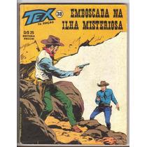 Revista Gibi Tex 38, 2ª Edição, Perfeita E Em Estado De Nova