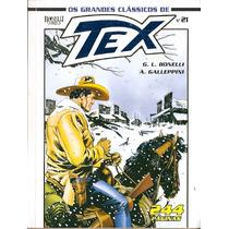 Os Grandes Clássicos Tex Nº 21 Editora Mythos
