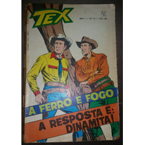 Gibi Tex Ano 1 Nº 12 - Editora Vecchi 1972 Raridade Original