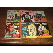 Tex 1ª Edição Editora Vecchi Lote Com 9 Edições Ano:1977