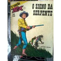 Tex Nº 1 ( 2ª Edição) O Signo Da Serpente Vecchi Original A