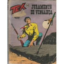 Gibi Tex 43 - 2a Edicao - Vecchi - Gibiteria Bonellihq