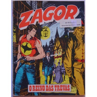 Zagor - Editora Globo - N° 28 - O Reino Das Trevas.