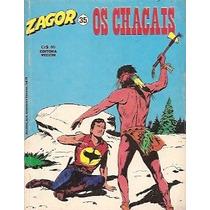 Zagor Nº 35 - Os Chacais - Ed. Vecchi - 1981