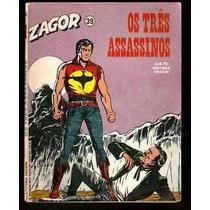 Zagor Nº 39 - Ano 1981 - Ed Vecchi - Heroishq