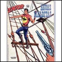 Zagor Nº 38 - Águas Malditas - Ed. Vecchi - 1981