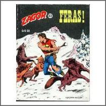 Zagor Nº 33 - Feras! Ed. Vecchi - 1981