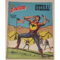 Hq Zagor Nº 16 - Guerra ! - Ed. Vecchi - 1979