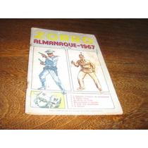 Almanaque Do Zorro Ano:1967 Editora Ebal Original