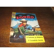 Zorro 3ª Série Nº 8 Abril/1971 Editora Ebal Original