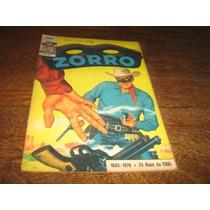 Zorro 2ª Série Nº 98 Junho/1970 Editora Ebal Original