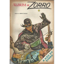 Album De Zorro Nº 7 Ano 1974 - Ebal Original