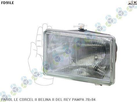 Farol Corcel Ii Belina Del Rey Pampa 78/84