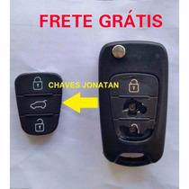 Capa Chave Canivete Hyundai I30, Vera Cruz, Azera - Key Pad