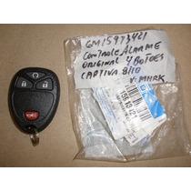 Chave Telecomando Alarme Captiva 08/10 4 Botoes Gm 15913421