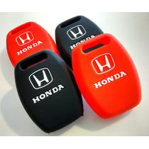 Capa De Silicone Chave Honda Civic Fit Crv New Si Exs Lxl