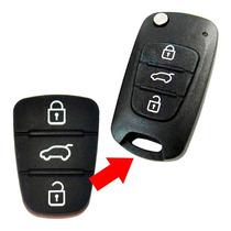 Capa Borracha Chave Hyundai I30 Ix35 Azera Frete Gratis
