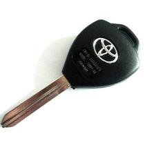 Chave Corolla 3 Botões Oca Para Alarme Original Toyota