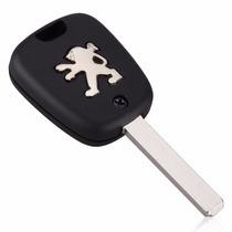 Chave Telecomando Peugeot 206 207 308 407 408 2 Botões