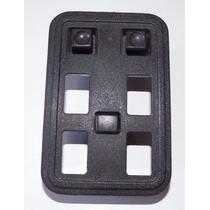 Moldura Botão Vidro Elétr Opala 4 Portas C/ Botão Espelho Gm