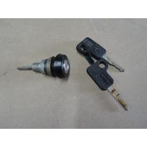 Cilindro Porta Mala Opala 85 À 87 Preto C/chave Chevrolet