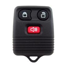 Capa Chave Telecomando Alarme Original Ford 3 Botões