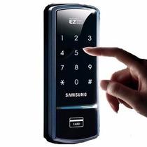 Fechadura Eletrônica 21usúarios Senha Cartão Shs1321 Samsung