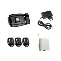 Kit Fechadura Elétrica Ecp 3 Controles 1 Fonte 1 Receptor