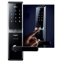 Fechadura Digital Samsung Shs-5230 Leitura Biométrica