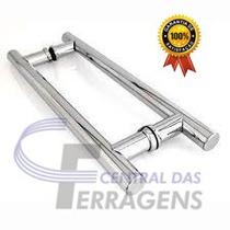 Puxador Para Porta De Vidro H 60cm X 40cm Aluminio