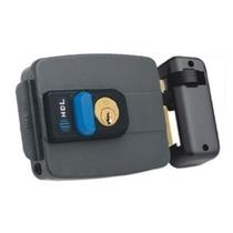 Fechadura Eletrônica Hdl C90 12v Cinza Com Botão
