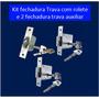 Kit Tetra C/ Rolete + 2 Trava Auxiliares Em Santo André