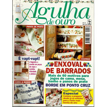 552 Rvt- 1998 Revista Agulha De Ouro Out 27- Enxoval Barrado