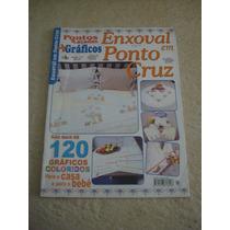 Revista Pontos E Laçados Enxoval Em Ponto Cruz Bebê Nº7