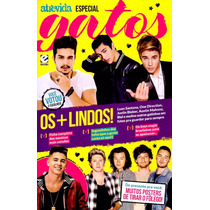 Revista Gatos Luan Santana Justin Bieber One Direction Nova!