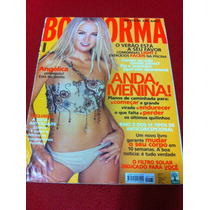 Revista Boa Forma Capa Angelica Musa Estrela Do Brasil