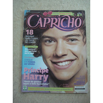 Revista Capricho One Direction Lady Gaga Justin Bieber