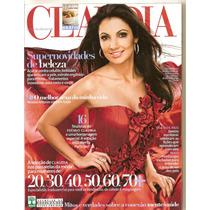 Revista Claudia - Patrícia Poeta/ Supernovidades De Beleza