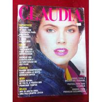 Revista Claudia Luciana Gimenez Sean Connery Beth Carvalho